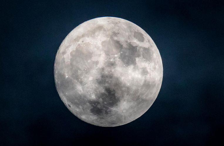 De maan Beeld anp
