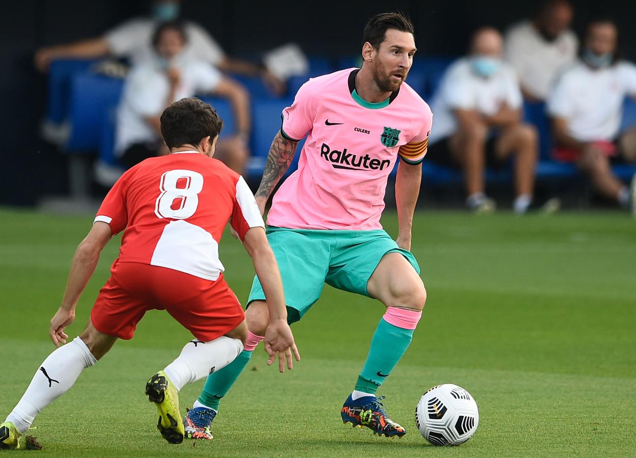 Lionel Messi heeft de smaak al snel weer te pakken.