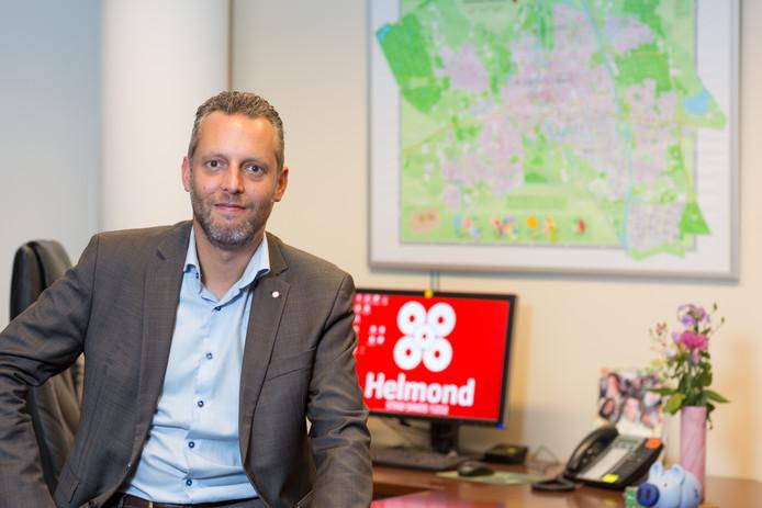 Wethouder Erik de Vries (SP) van Helmond.