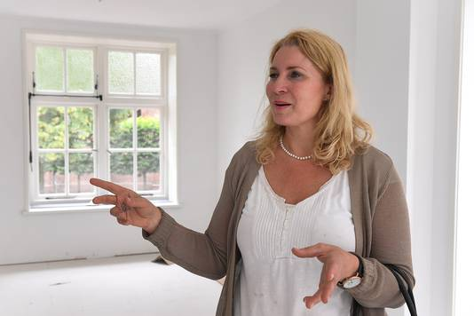 Initiatiefneemster Hannie Nieuwenhuizen-van Kempen.
