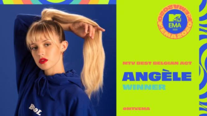 Angèle wint MTV EMA Best Belgian Act award 2020