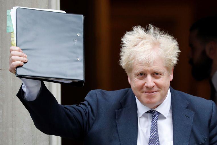 Boris Johnson Beeld null