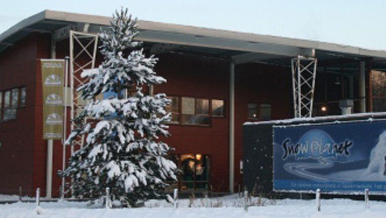 Het feest vond plaats in Snow Planet Beeld Snowplanet.nl