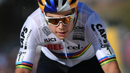 """Van Aert na zesde tweede plek in zeven crossen: """"Geduld? Neen, ik wil winnen"""""""