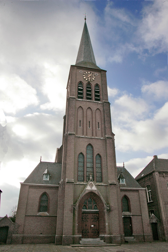De Antonius Abtkerk in Horssen.
