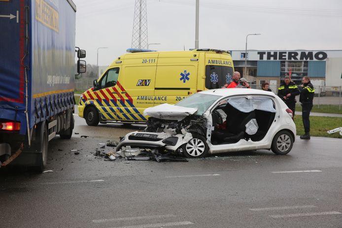 Ernstig ongeluk op de N640 bij Oud Gastel.