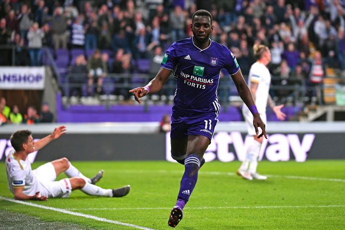Le but de Bolasie ne suffit pas: Anderlecht devra gagner à Gand dimanche.