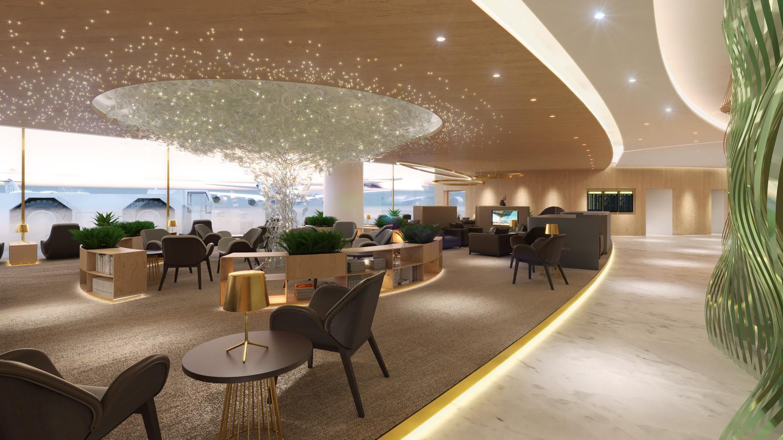 Eindhovense lounges voor vliegveld moskou foto - Fotolounge ontwerp ...