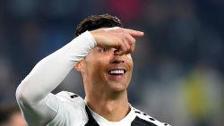 LIVE. Ook Ronaldo pikt zijn goaltje mee, Frosinone helemaal uitgeteld