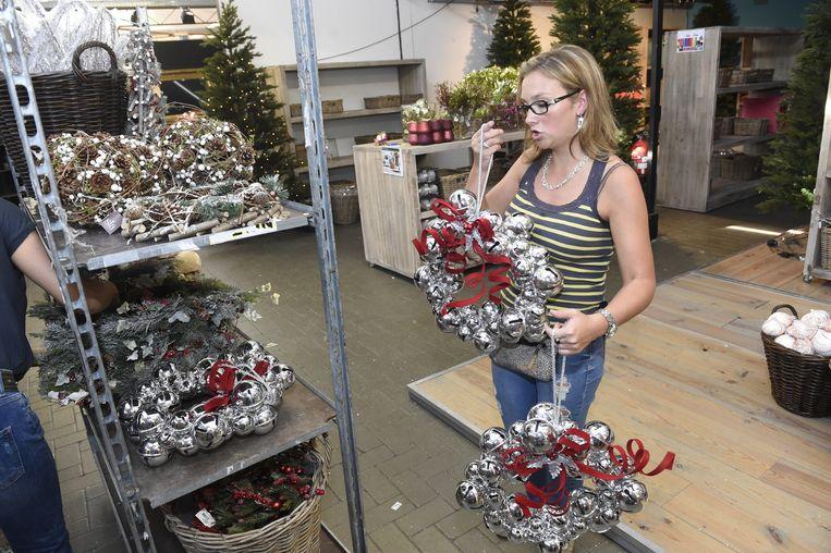 Het personeel van Van Gastel viert voortdurend kerst.