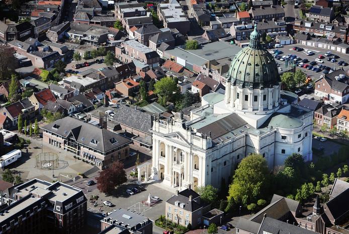 Centrum Oudenbosch Luchtfoto Ramon Mangold