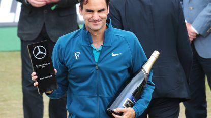 Federer lost Nadal af aan kop van ATP-ranking, Goffin blijft negende