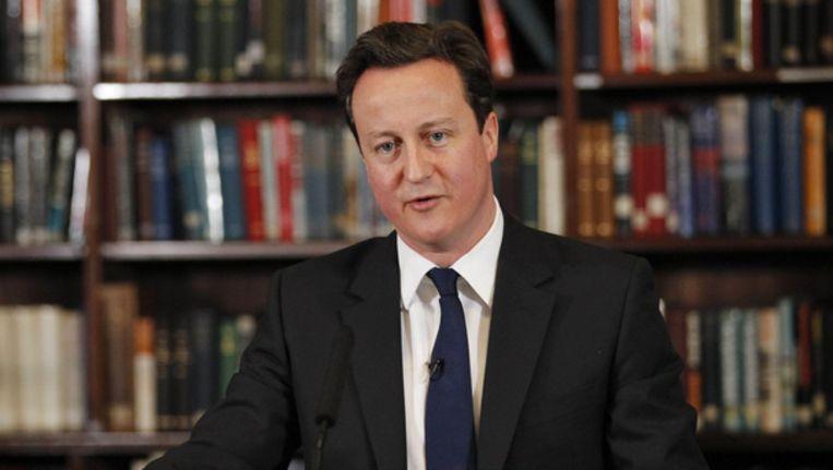 David Cameron. Beeld