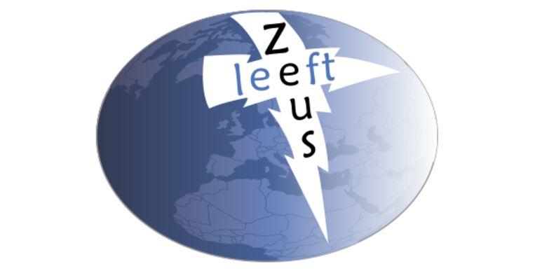 Beeld: Het logo van Zeus Leeft! Beeld Beeld: De Speld Studio