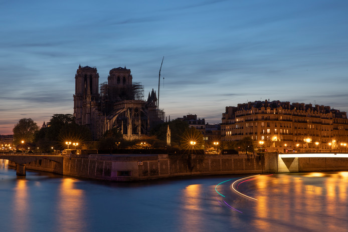 Wat er nog over is van de Notre-Dame
