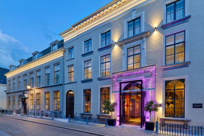 Hotel Nassau in de Nieuwstraat, een van de hotels in Breda.