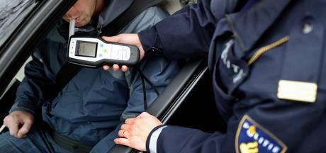 Dronken bestuurders gepakt bij alcoholcontroles in Oss