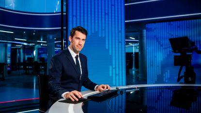 """Freek Braeckman presenteert 'VTM Nieuws' deze maand om 19 uur: """"Maar Stef zijn job overnemen? Nee, dank u"""""""