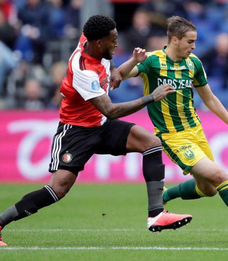 LIVE | Geertruida herstelt fout en zet Feyenoord naast ADO