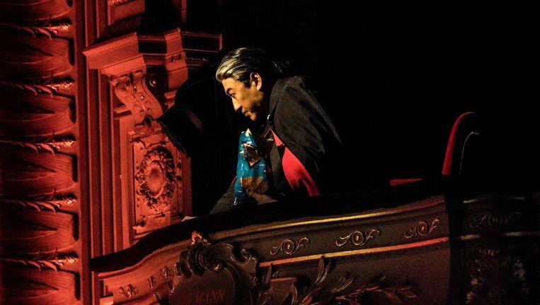 Simon Lim als de fictieve heerser Wu Virtu in The New Prince Beeld Marco Borggreve