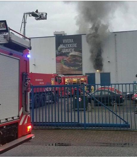 Grote brand bij Vivera in Holten onder controle