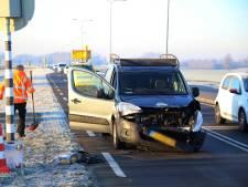 Kerende auto veroorzaakt ongeval in Mijdrecht