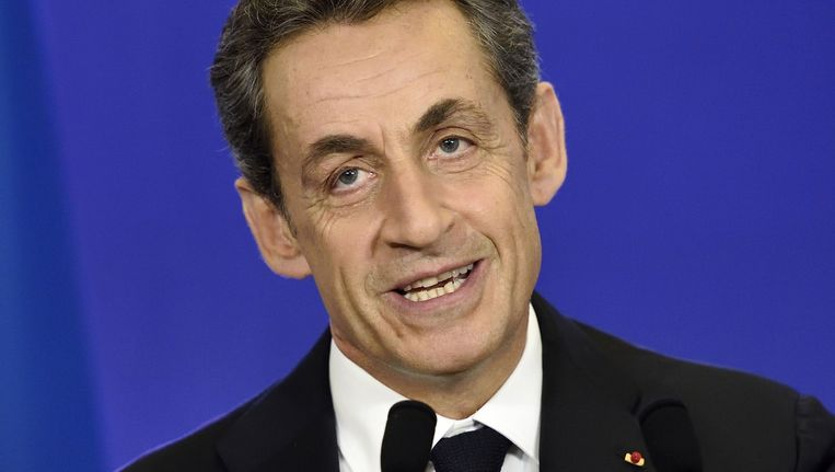 Nicolas Sarkozy Beeld null