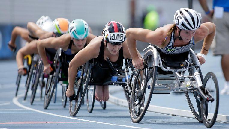 Het IPC besliste gisteren dat Rusland is uitgesloten van de Paralympische Spelen in Rio de Janeiro. Beeld anp