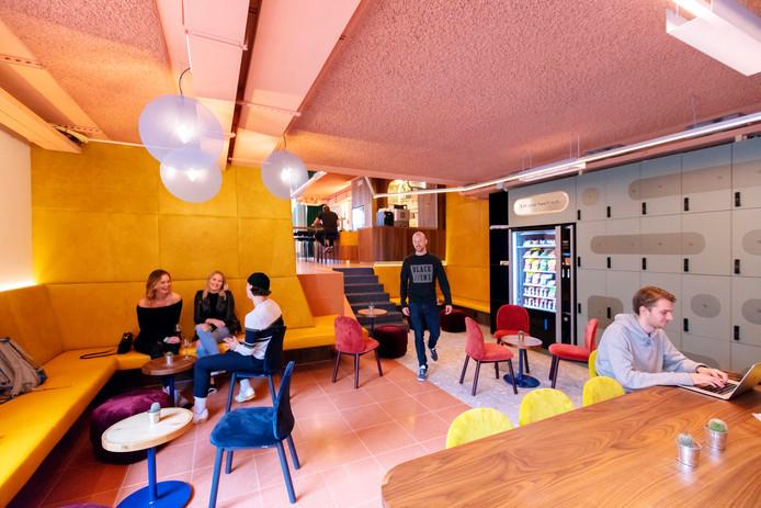 CityHub combineert de 'gezelligheid van een hostel met het comfort van een hotel'.