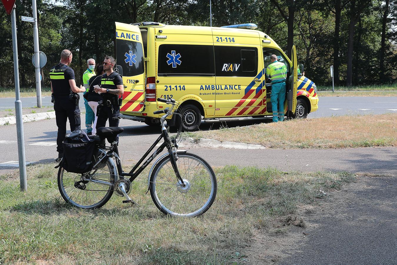 Bij een ongeval op de Ruwaardsingel in Oss raakte en fietser gewond.