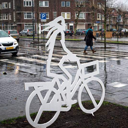Silhouet bij Stationslaan Breda