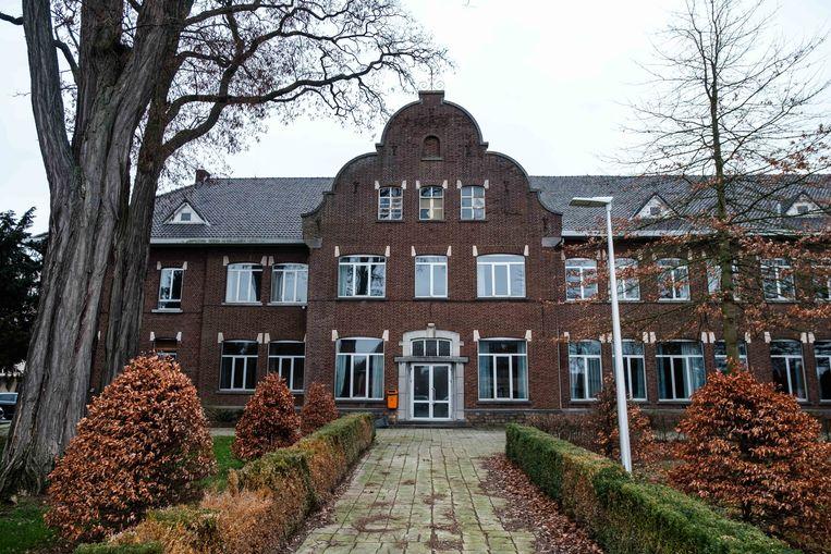 Het  oude collegegebouw.