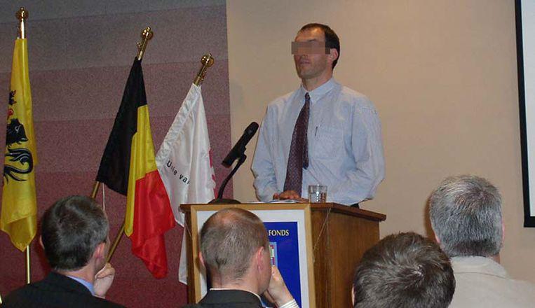 De voor pedofilie veroordeeld Vlaamse pater Luk D.