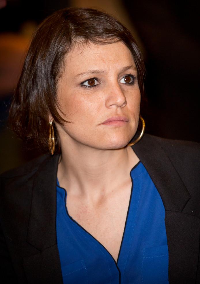 Inés Zorreguieta op een foto uit oktober 2016 in Amsterdam.