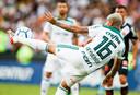 Deyverson in actie voor Palmeiras.