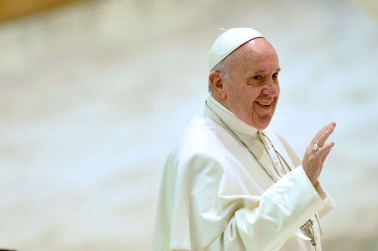 De EO komt met een programma over Paus Franciscus. Beeld afp