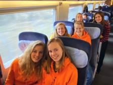 De klas van Fenne (16) uit Zeist vluchtte dit weekend uit Italië voor het coronavirus: 'Heel heftig'