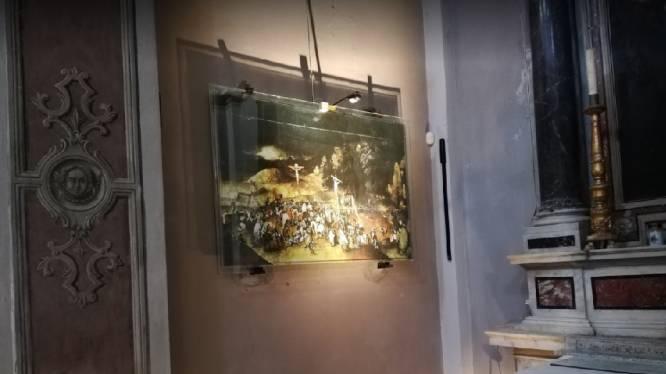 Doek van Pieter Brueghel de Jonge gestolen uit Italiaanse kerk