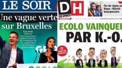 """Franstalige kranten na verkiezingen: """"België meer dan ooit verdeeld"""""""
