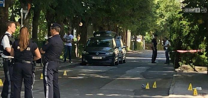 Het schietincident vond plaats in het centrum van Zell am See, vlakbij een vijfsterrenhotel en een pension.