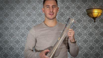 Eden Hazard (27) verkozen tot Sportman van het Jaar 2018, derde Rode Duivel in vijf jaar tijd die wint