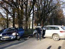 Flinke schade aan auto's na ongeluk bij Plasmolen