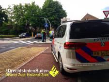 Fietser en auto botsen op oversteekplaats in Sliedrecht