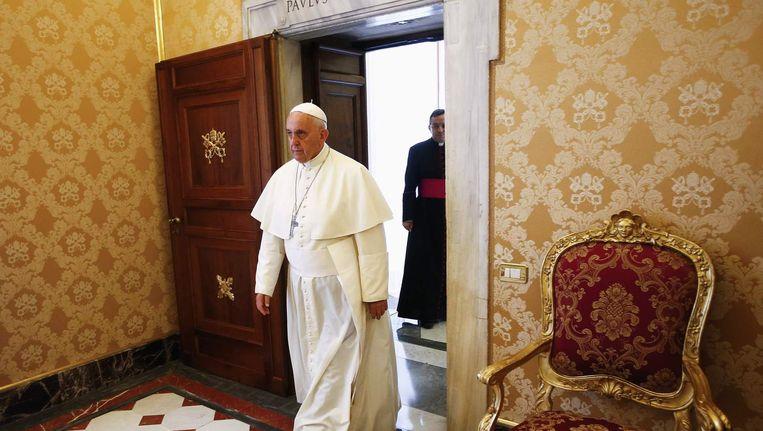 Paus Franiscus in Letland Beeld reuters