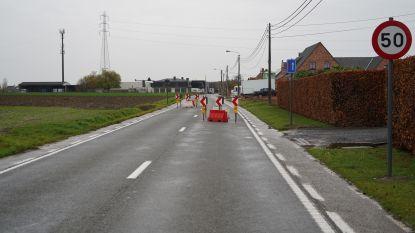 Veldstraat krijgt andere wegversmalling