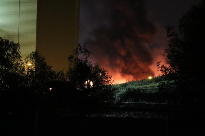Brand bij Twence