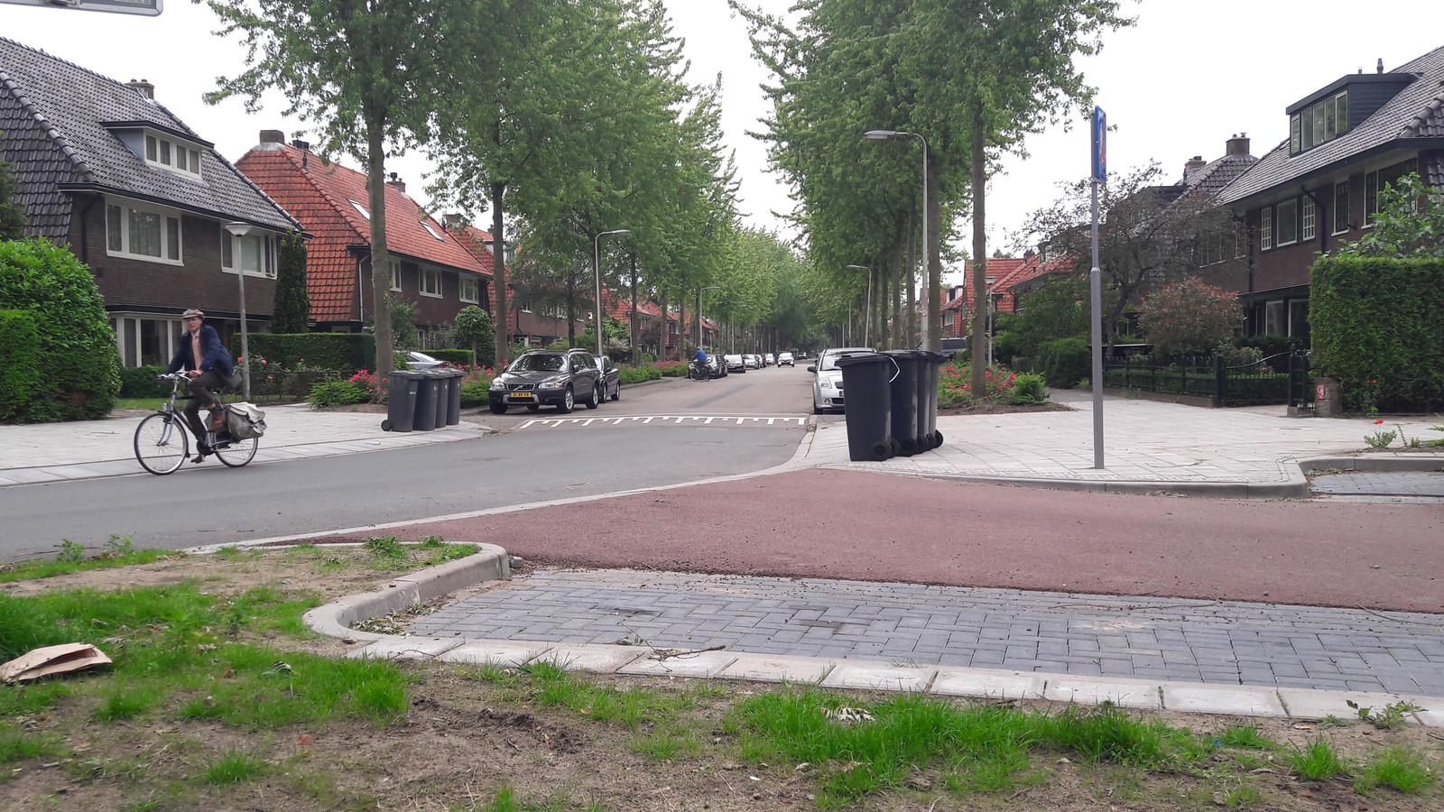 De aansluiting op het Laurens Costerplein is autoluw gemaakt.