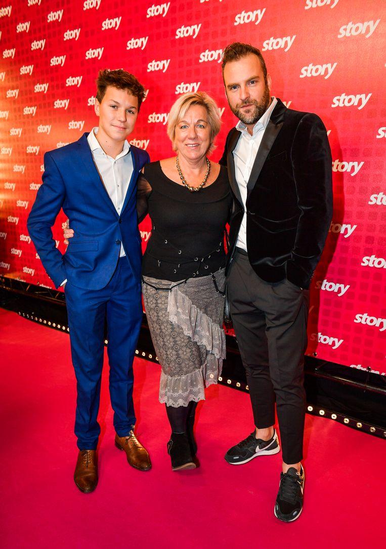 David Cantens, Hilde Van Haesendonck en Felix Jamaels uit 'Familie'
