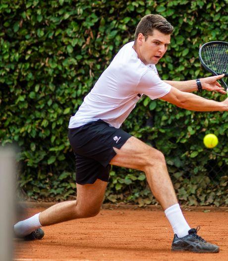 Broers Ameshoff domineren al jaren op de Apeldoornse Tennis Kampioenschappen