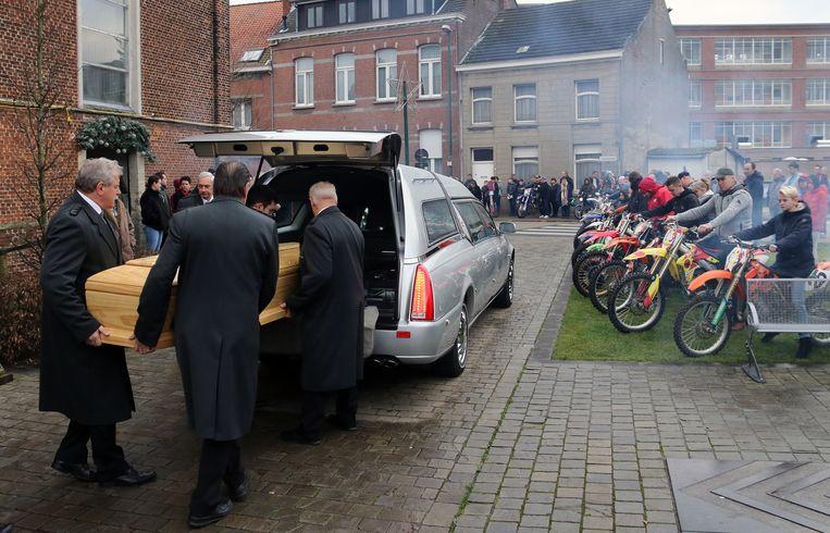 De begrafenis van Ian Goormans